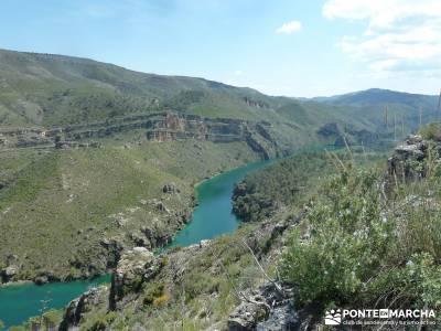 Sierra de Enmedio - Río Guadiela;madrid rutas escapadas por madrid mapas senderismo